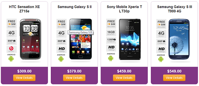 Free Solavei Cell Phones